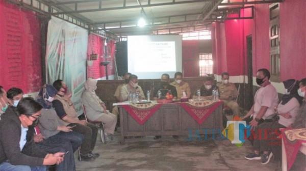 Monitoring program CFW di Kota Blitar. (Foto: Aunur Rofiq/ BlitarTIMES)