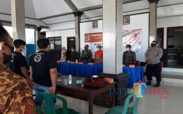 Musdes Penetapan Hasil SGDs Tahun 2021 di Desa Ngrejo Tanggunggunung. (Foto : Istimewa / Tulungagung TIMES