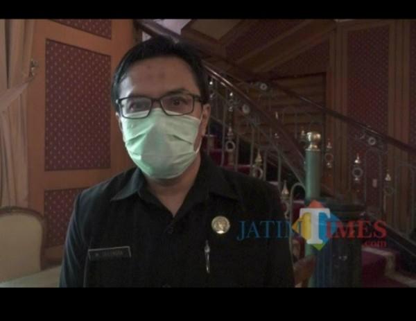 Kepala Dinas Koperasi, Perindustrian dan Perdagangan (Diskopindag) Kota Malang, M Sailendra. (Anggara Sudiongko/MalangTIMES).