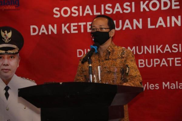 Ketua Komisi Hubungan Antar Lembaga dan Luar Negeri Dewan Pers, Agus Sudibyo (foto: Humas Pemkab Malang for MalangTIMES)