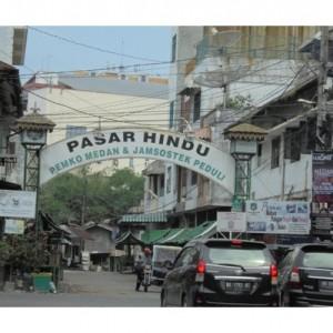 Pasar Terkecil di Indonesia ini Dinamai Pasar Hindu, Ternyata Begini Penampakannya!