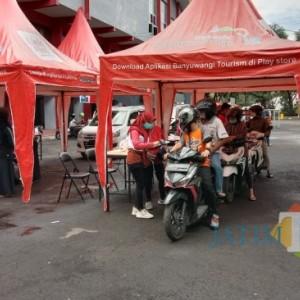 Vaksinasi di Banyuwangi Menyasar Pelaku Jasa Transportasi