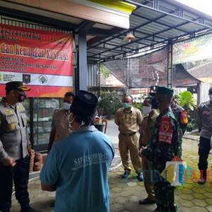 PPKM Mikro Efektif Tekan Kasus Covid-19, TNI-Polri di Blitar Beri Motivasi Satgas dan Relawan di Tingkat Desa