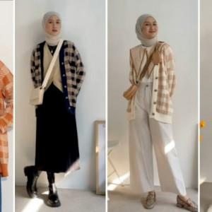 Inspirasi Pakai Knit Cardigan untuk Tampil Beda dan Kekinian, Bisa Ditiru Nih!