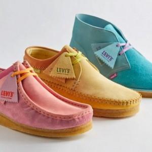 Hidupkan Suasana 80-an, Begini Tampilan Sepatu Kolaborasi Clarks dan Levi's