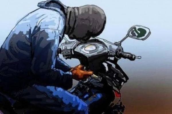 Ilustrasi maling sepeda motor (foto: istimewa)