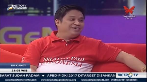 Pemilik Sekolah Selamat Pagi Indonesia, Julianto Eka Putra (Foto: YouTube Sekolah Selamat Pagi Indonesia)