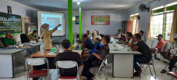 Petani tembakau di Blitar mendapat sosialisasi bertani dengan pupuk hayati. (Foto: Dispertapa Kabupaten Blitar for BlitarTIMES)