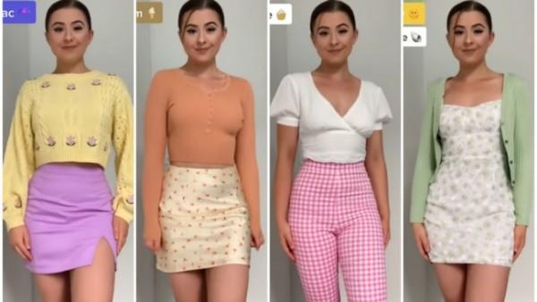 Gaya untuk tampil lebih fresh dengan outfit color combo. (Foto: Instagram @style)