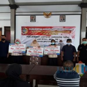 BLT DD Bulan Juni Cair, Petani dan Nelayan Desa Ngrejo Tulungagung Sumringah