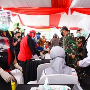131.640 Dosis Sehari, Vaksinasi Jatim Tertinggi Se-Indonesia
