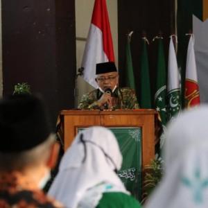 Hadiri Pelantikan MWCNU, Bupati Malang Singgung Generasi Muda