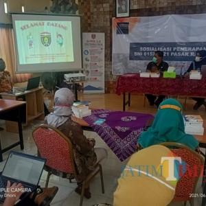 Penataan Pasar Program Prioritas, Dinas Perdagangan Kabupaten Ngawi Sosialisasikan SNI