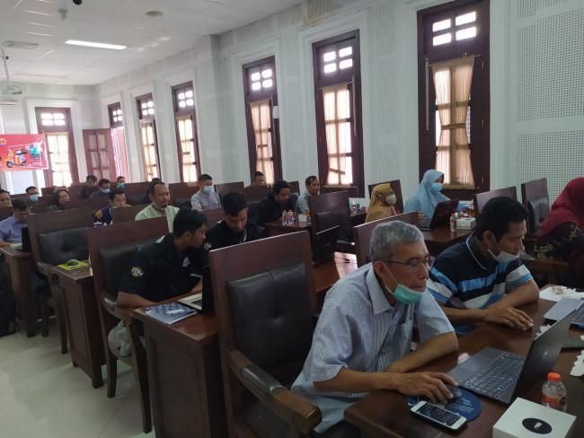 Para peserta pelatihan digital marketing.