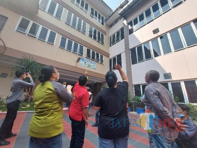 Wali Kota Malang Sutiaji saat meninjau BLK-LN Central Karya Semesta PT CKS.
