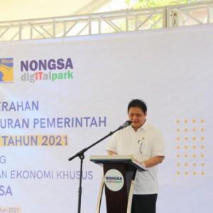 Menko Airlangga: KEK Batam Dapat Jadi Contoh Sekaligus Setarakan Indonesia Dengan Negara Maju