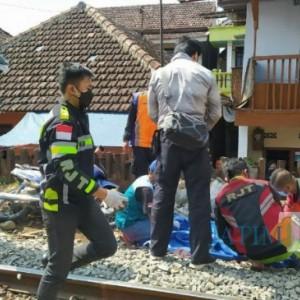 Hendak Melintas di Rel Kebalen, Seorang Pria Terseret KA Sejauh 10 Meter Hingga Tewas