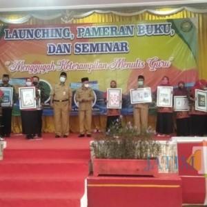 Diknas Kabupaten Jember Apresiasi Guru Madrasah Manfaatkan Pandemi Covid dengan Karya Tulis