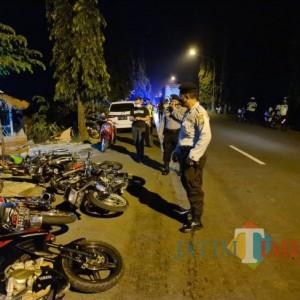 Bubarkan Balap Liar dan Tawuran, Polres Tuban Amankan 44 Pemuda dan 29 Motor