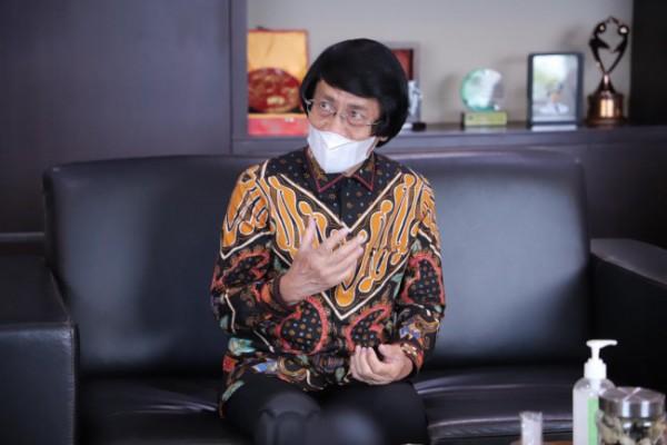 Ketua Umum LPAI Kak Seto saat di Balai Kota Among Tani, Senin (14/6/2021).