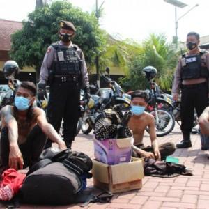 Tindaklanjuti Atensi Kapolri, Polres Malang Operasi Premanisme Jalanan