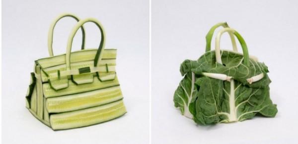Tas Hermes 'Birkin' dari bahan sayuran. (Foto: Instagram @hermes).