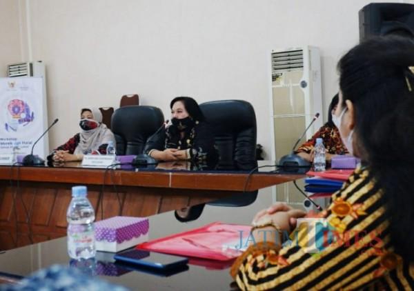 Disperindagin Kota Kediri Gelar workshop bersama pelaku UKM. (ist)