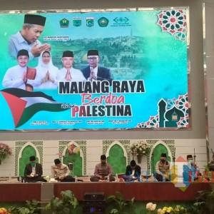 Di Unisma, Malang Raya Berdoa untuk Palestina, Galang Dana Terkumpul Rp 537 Juta