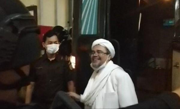 Habib Rizieq (Foto: Tribunnews.com)