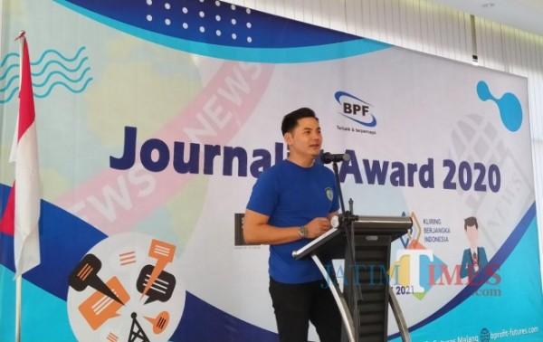 Pimpinan PT BPF Cabang Malang, Andri (Nurlyla Ratri/MalangTIMES)