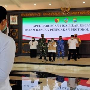 Bupati Jombang Minta 3 Pilar Kecamatan Turun ke Warga untuk Atasi Covid-19
