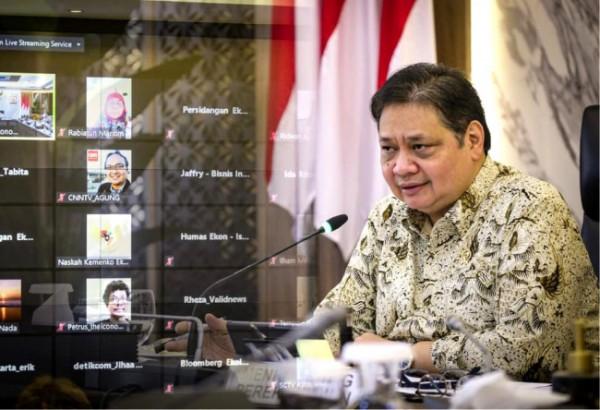 Menko Perekonomian Airlangga Hartarto (Foto: Dok. Kementerian)