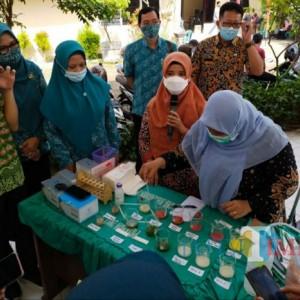 Lindungi Konsumen,  DKPP Kabupaten Kediri Rapid Test Produk Pangan Segar