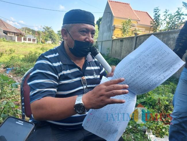Pihak penggugat Agung Mustofa.