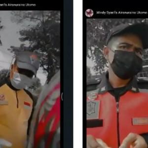 Viral Video Petugas Pemeriksa Swab Ternyata Tidak Melakukan Swab