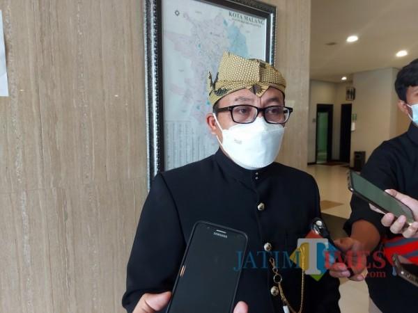 Wali Kota Malang Sutiaji saat ditemui awak media beberapa waktu lalu di Hotel Savana, Kota Malang. (Foto: Tubagus Achmad/MalangTIMES)