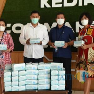 Terima Bantuan Ribuan Masker, Wali Kota Kediri: Sangat Bermanfaat Mendisiplinkan Protokol Kesehatan