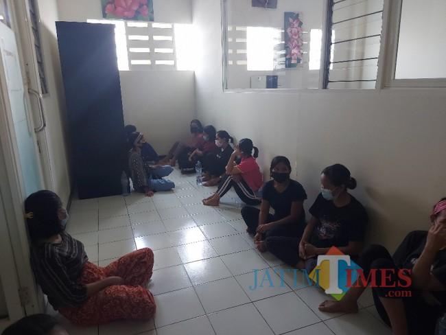 Kondisi calon PMI di BLK-LN Central Karya Semesta PT CKS Cabang Malang.