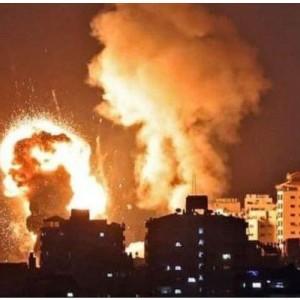 Israel Klaim Diserang Balon Api Lagi setelah Gempur Gaza hingga Bentrokan di Pawai Yahudi