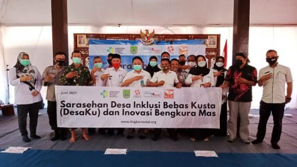 Pencanangan Desa Inklusi Bebas Kusta (DesaKu) Sinergi Inovasi Bengkura Mas di Kecamatan Nguling(Ist)