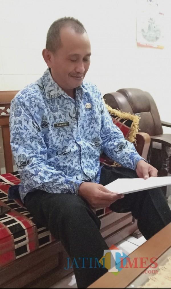 Samirun, Plt Kepala Bidang Pendidikan Dasar Dinas Pendidikan Kabupaten Ngawi. (Foto: Satria Romadhoni/ JatimTIMES)