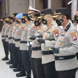 Lantik 31 Pejabat, Kapolda Jatim Minta Kapolres Waspadai Penyebaran Covid-19 Varian Baru