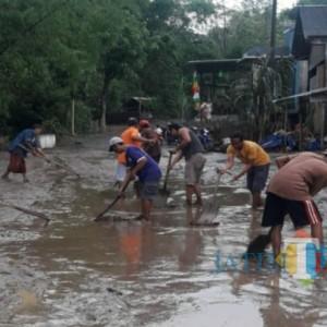 Tengah Malam, Banjir Bandang Terjang Desa di Tulungagung, 250 Rumah Terendam