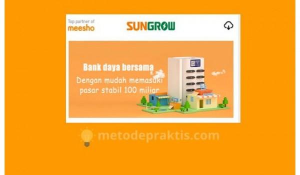 Aplikasi Sungrow (Foto: Metodepraktis)