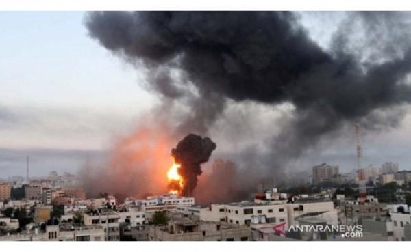 Bentrok Israel dan Palestina (Foto: Melodia NEWS)
