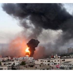 Makin Panas, Israel Kembali Gempur Gaza dengan Bombardir Jet Tempur