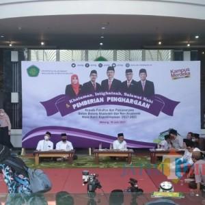 Dorong Peningkatan Kinerja, Rektor UIN Malang Beri Penghargaan Fakultas dan Pascasarjana Berprestasi