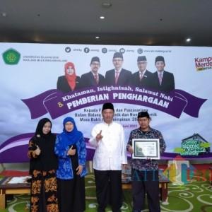 Jadi Fakultas Terbanyak Terapkan Inovasi Layanan Digital, Fakultas Psikologi UIN Maliki Malang Diganjar Penghargaan