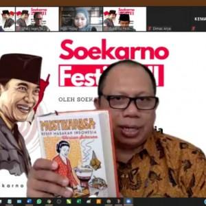 Soekarno Festival Bedah Gaya Diplomasi Bung Karno di Meja Makan