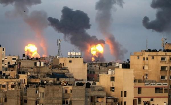 Dampak konflik Palestina dan Israel. (Foto: Demokracia)